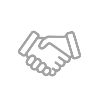 handshake icon with white background